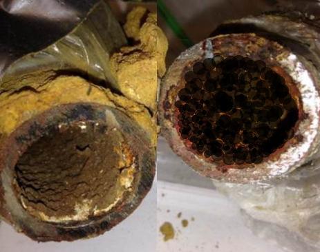 一般的な除マンガン装置は、地下水(井戸水)に溶け込んでいるマンガンを以下の方法・原理にて除去します。
